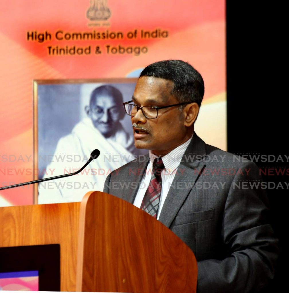 Arun Kumar Sahu, India High Commissioner to Trinidad and Tobago
